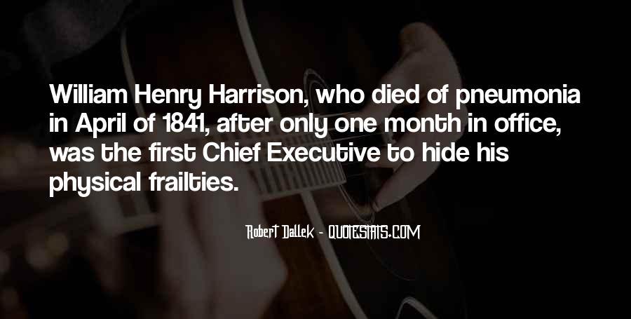 William Harrison Quotes #1532460