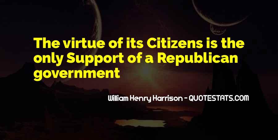 William Harrison Quotes #684827