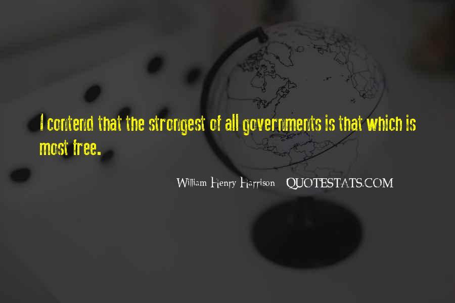 William Harrison Quotes #956485