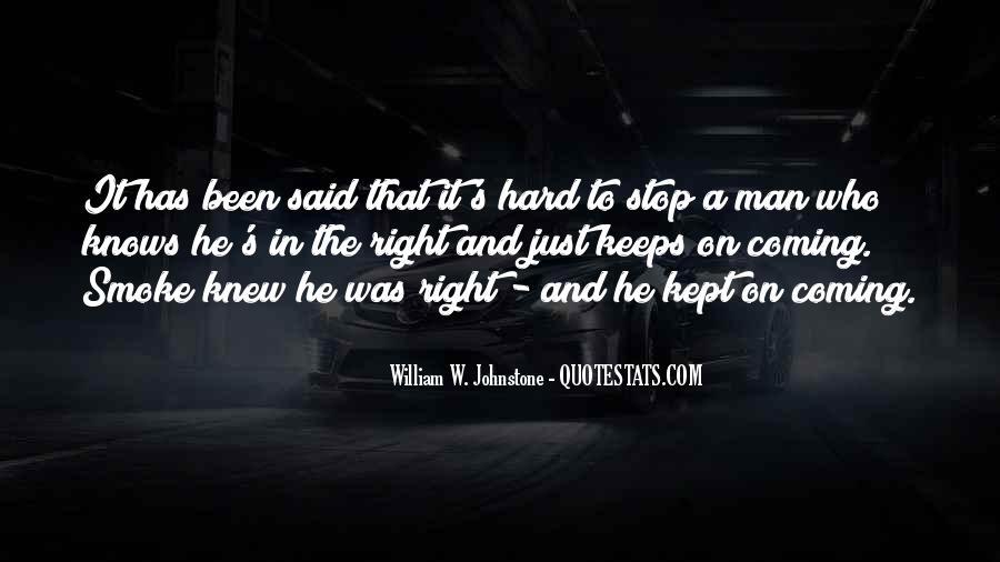 William Johnstone Quotes #465118