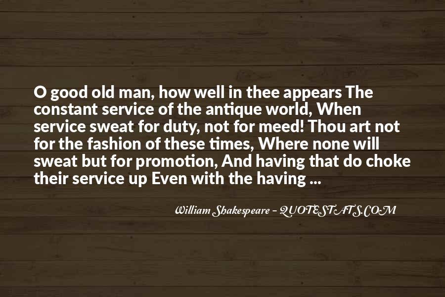 William Shakespeare Fashion Quotes #1185869