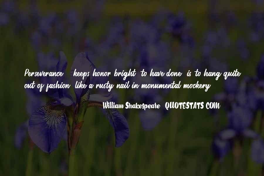 William Shakespeare Fashion Quotes #1463531