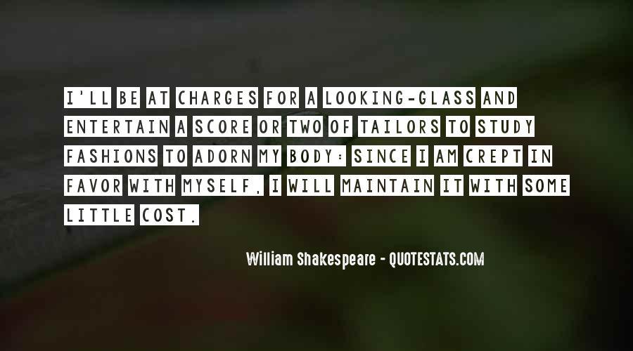 William Shakespeare Fashion Quotes #1735403