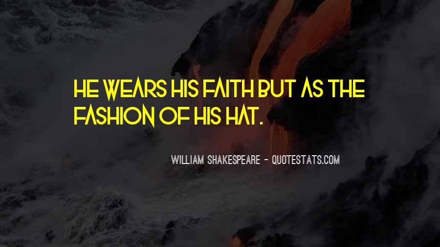 William Shakespeare Fashion Quotes #1776876