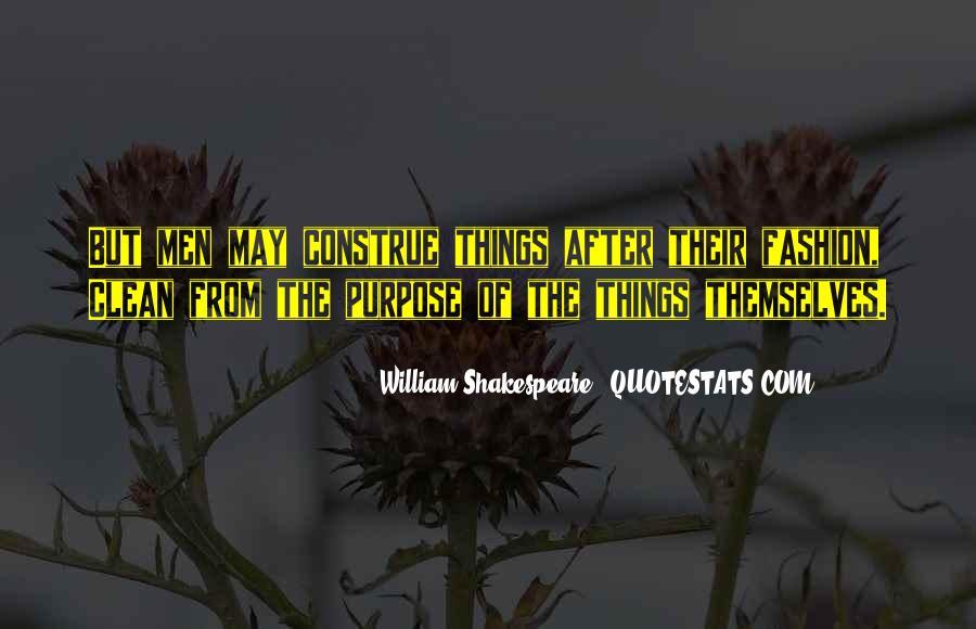 William Shakespeare Fashion Quotes #886222