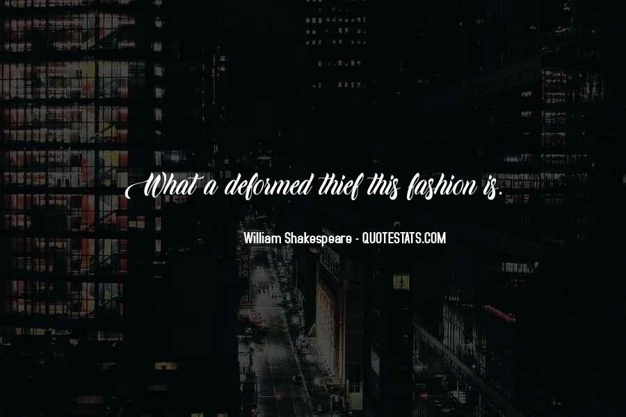 William Shakespeare Fashion Quotes #935181