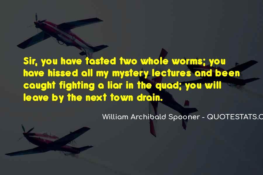 William Spooner Quotes #1035516