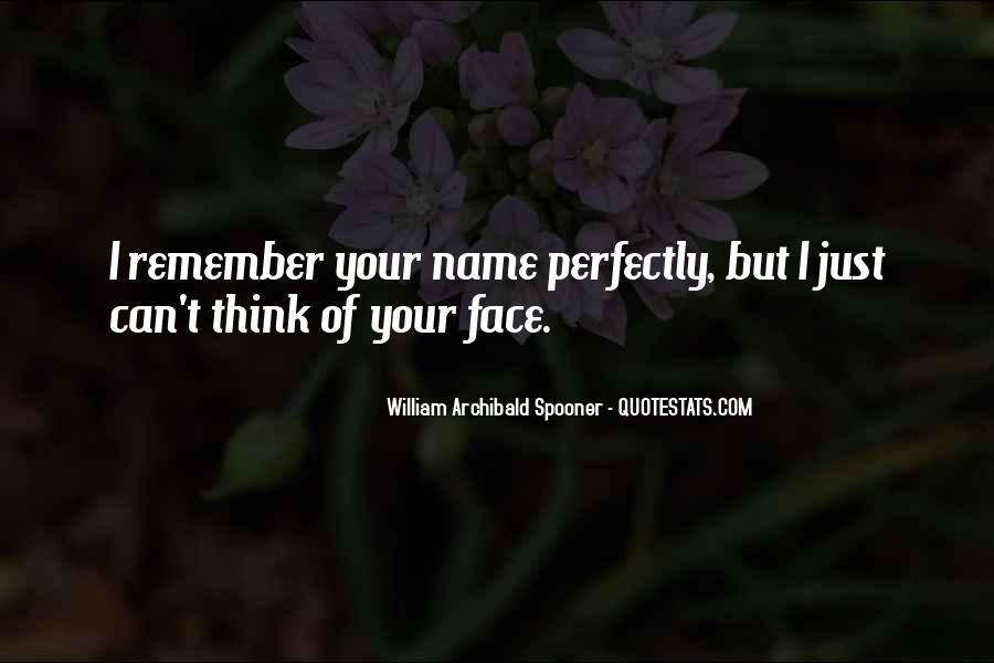 William Spooner Quotes #300359