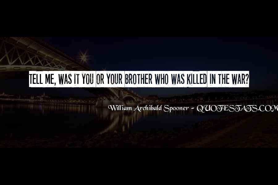 William Spooner Quotes #350675