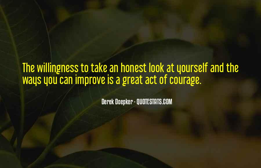 Willingness To Improve Quotes #1352708