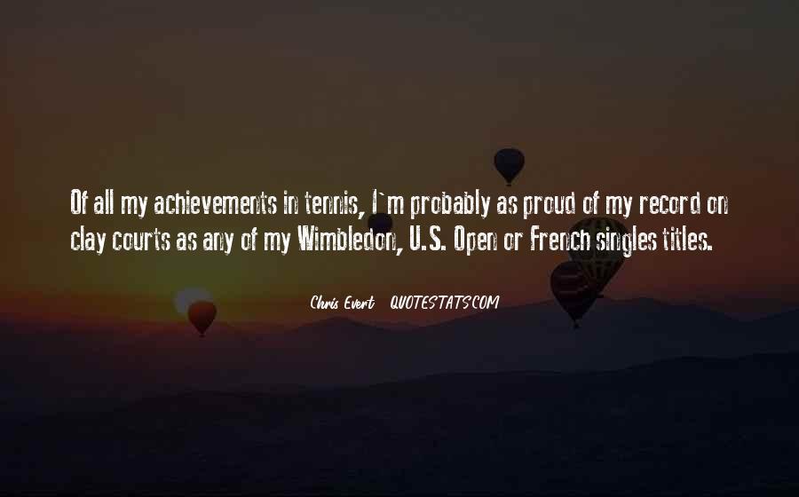 Wimbledon Tennis Quotes #1292645