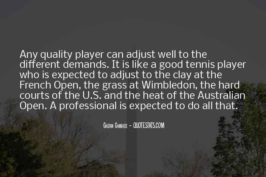 Wimbledon Tennis Quotes #929861