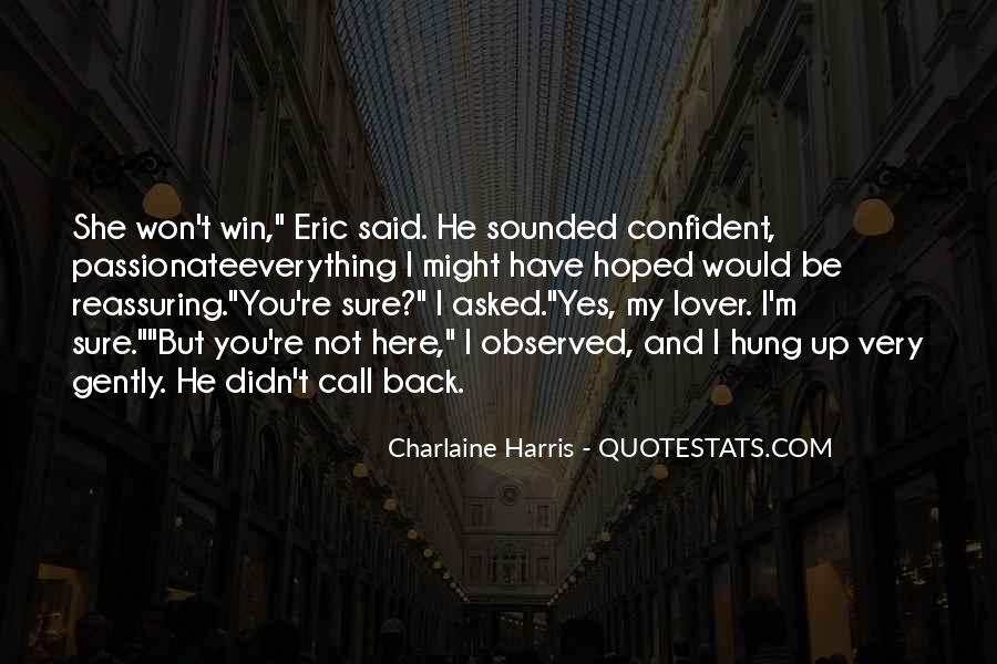 Win Back Your Love Quotes #1017647