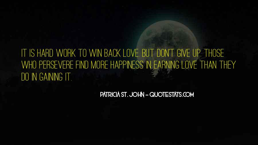 Win Back Your Love Quotes #615796