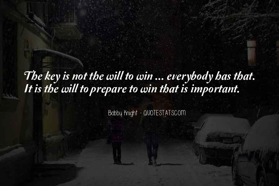 Win It Quotes #25375