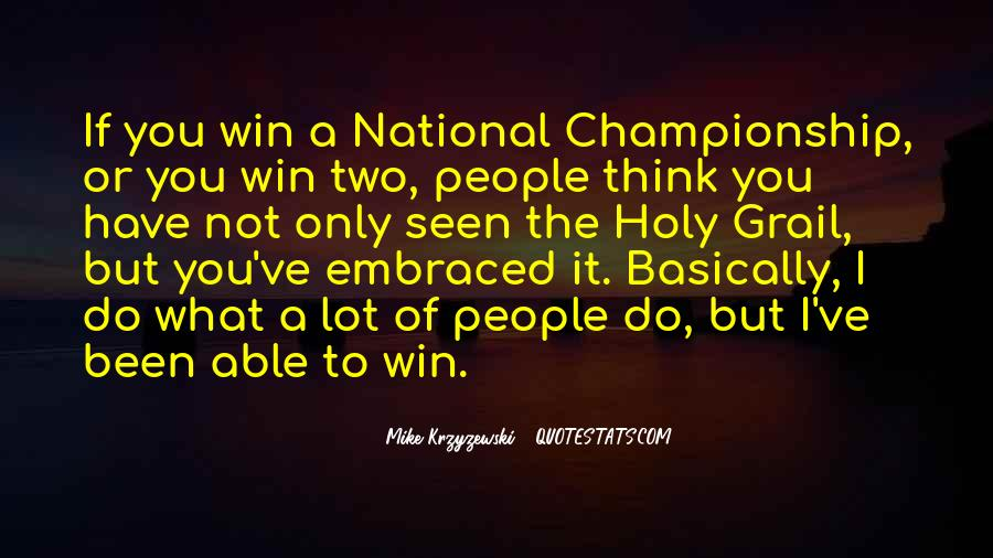 Win It Quotes #39840