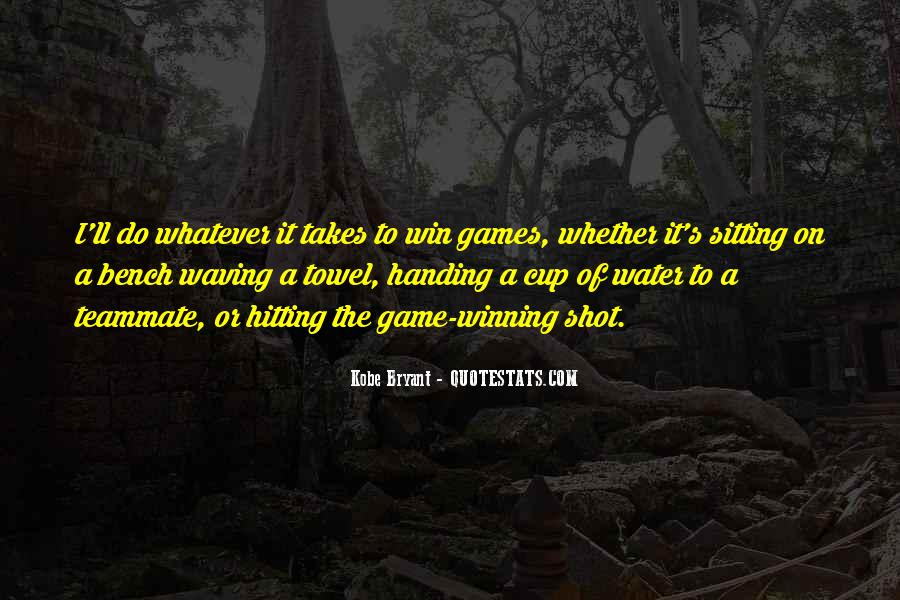 Win It Quotes #6852