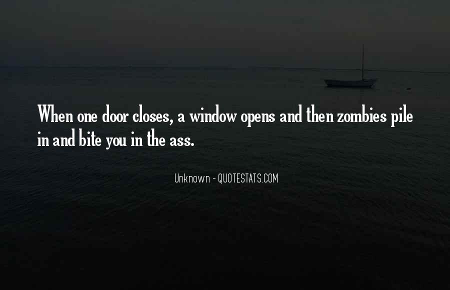 Window Closes Door Opens Quotes #792983