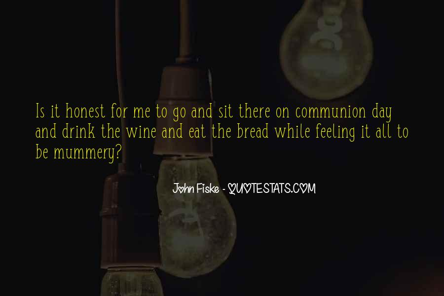 Wine And Bread Quotes #238959
