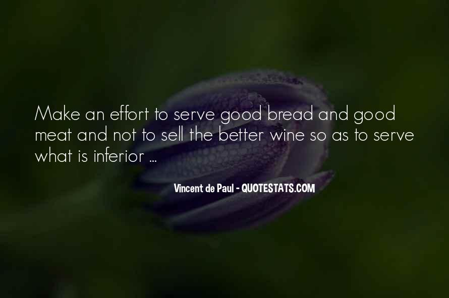Wine And Bread Quotes #549920