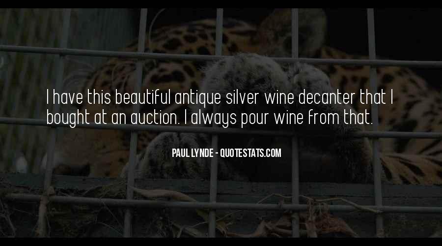 Wine Decanter Quotes #1285471
