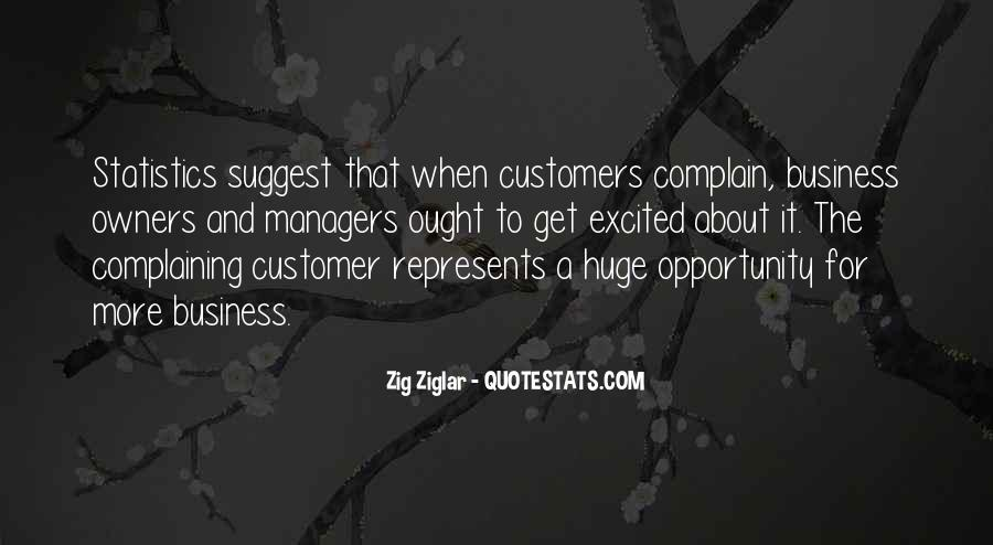 Quotes About Complaining Customers #1422372