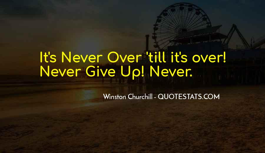 Winston Churchill Never Give In Quotes #1045923