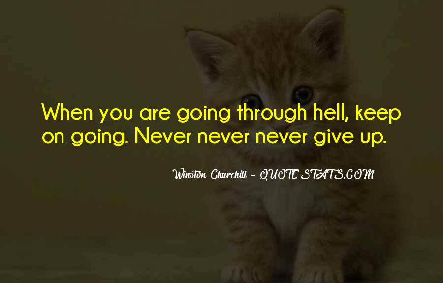 Winston Churchill Never Give In Quotes #1353037