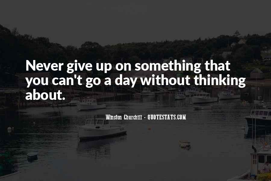 Winston Churchill Never Give In Quotes #1635254
