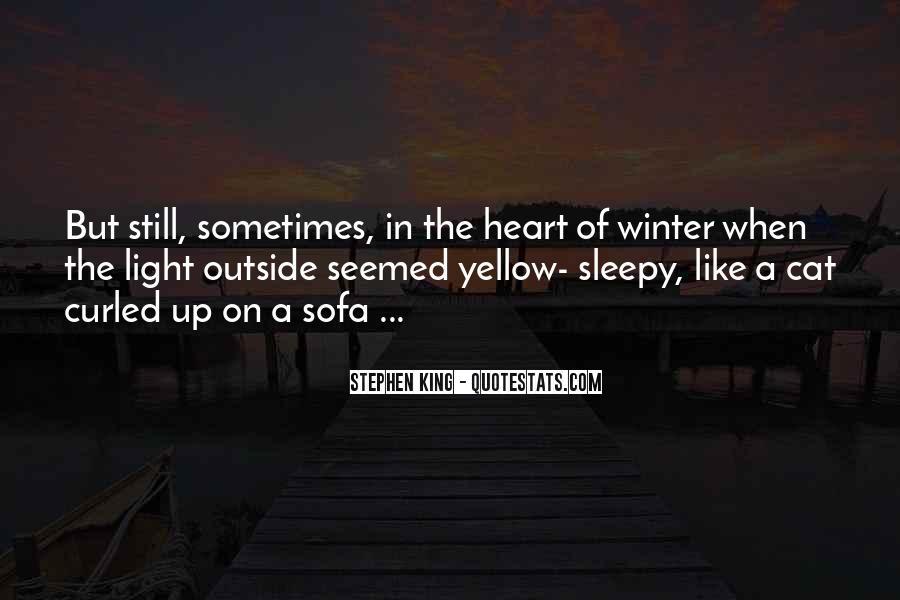 Winter Cat Quotes #855799
