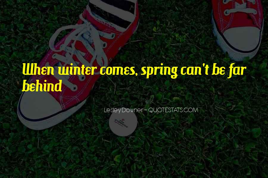 Winter Comes Quotes #108021