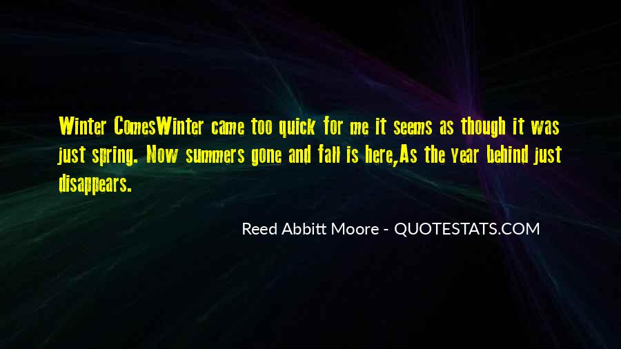 Winter Comes Quotes #907211