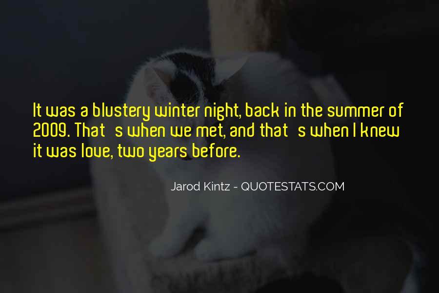 Winter Night Love Quotes #779799