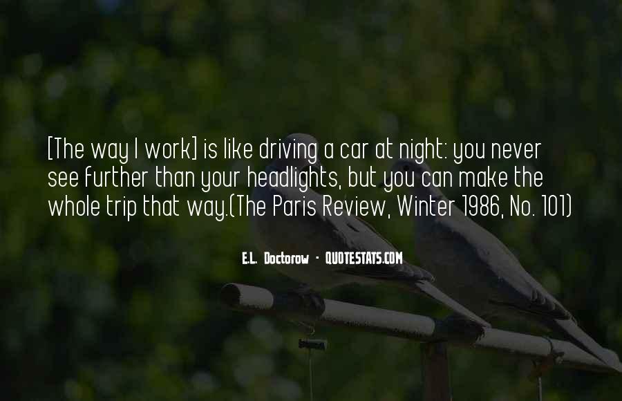 Winter Trip Quotes #194320