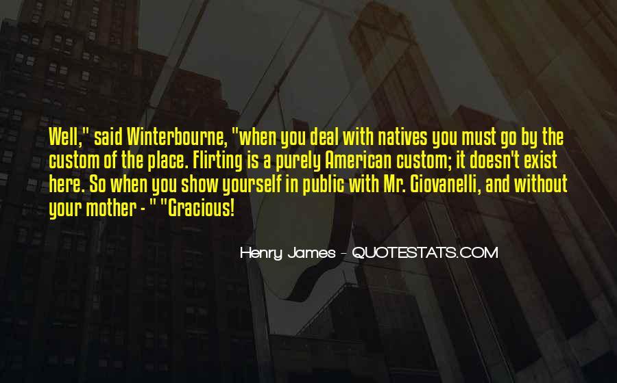 Winterbourne Quotes #813338