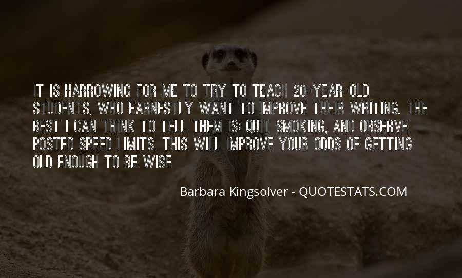 Wise And Old Quotes #113028