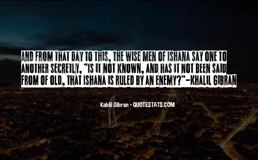 Wise And Old Quotes #1209192