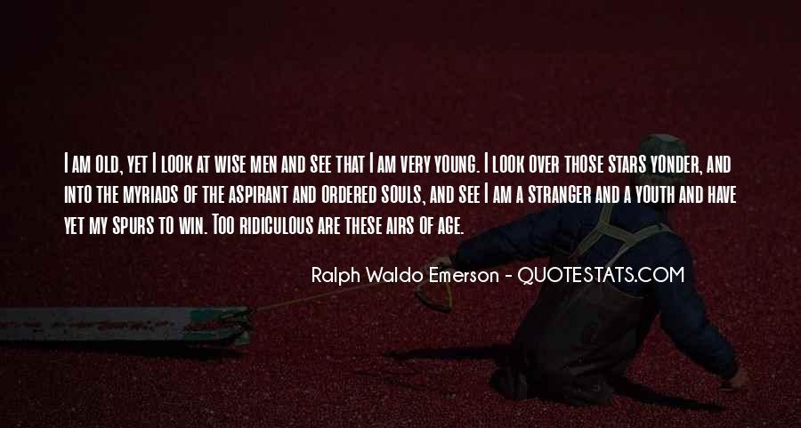 Wise And Old Quotes #465084