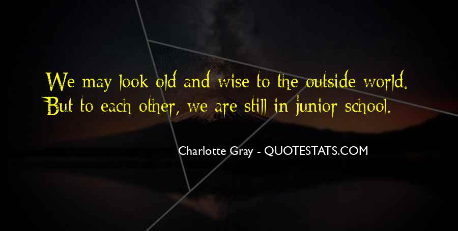 Wise And Old Quotes #723971