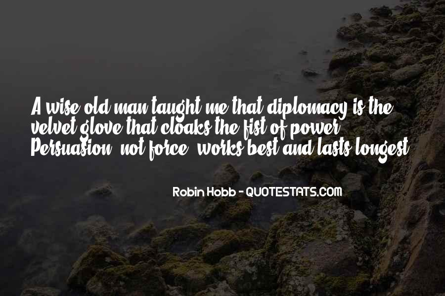 Wise And Old Quotes #854390