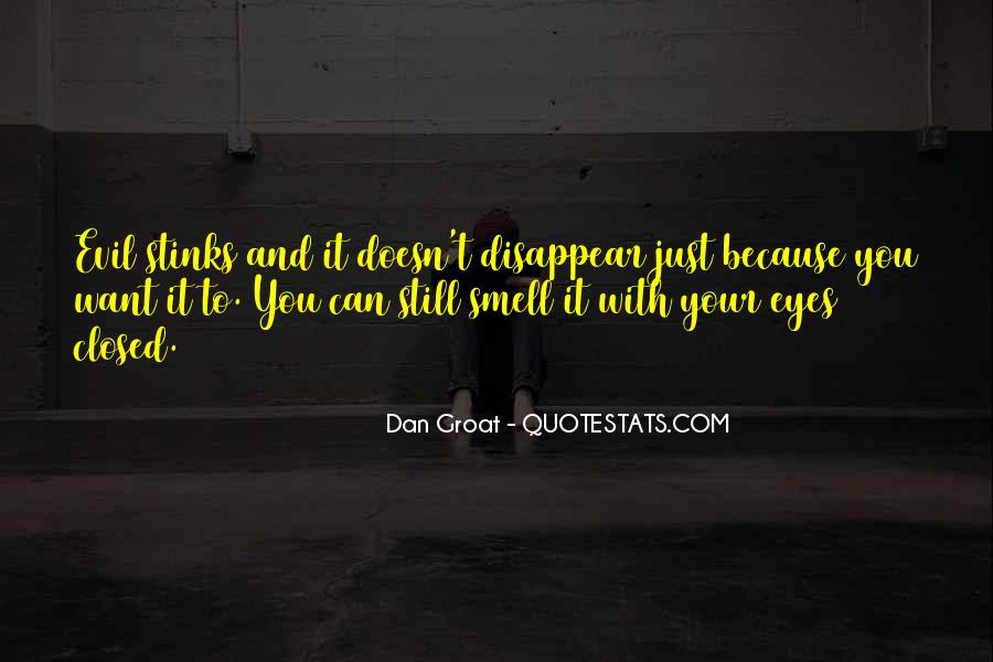 Wish Could Disappear Quotes #16726