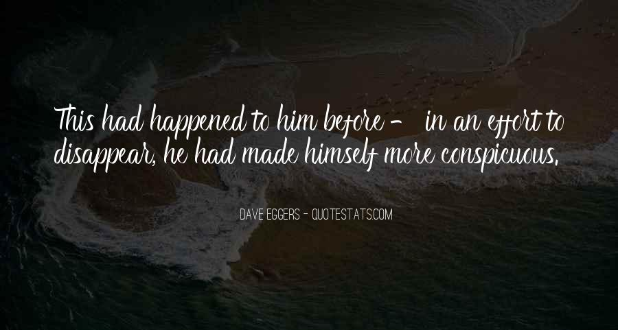 Wish Could Disappear Quotes #32573