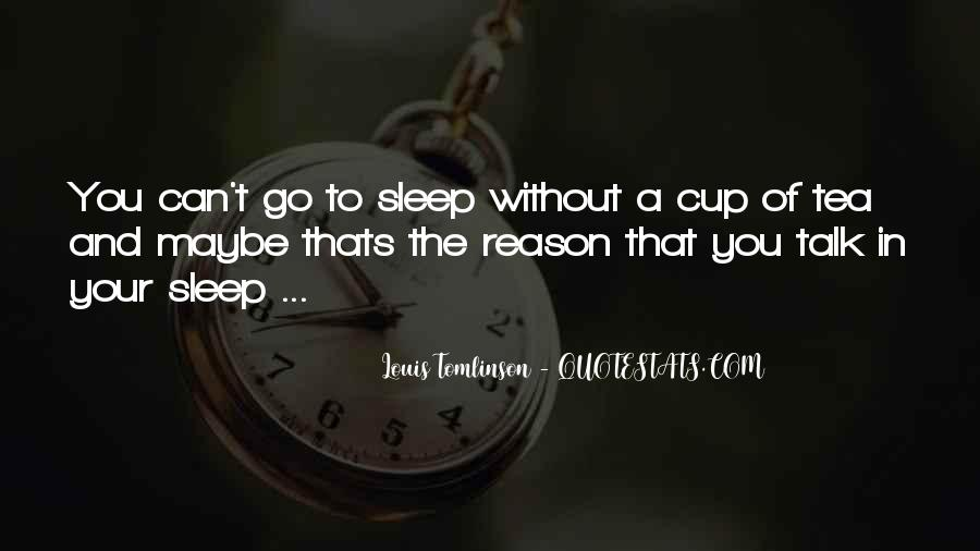 Wish I Could Sleep Quotes #1642