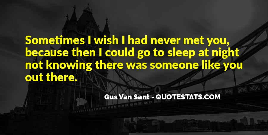Wish I Could Sleep Quotes #1665217