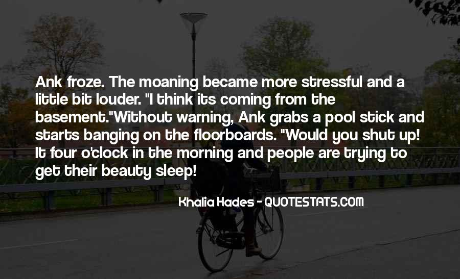 Wish I Could Sleep Quotes #1688