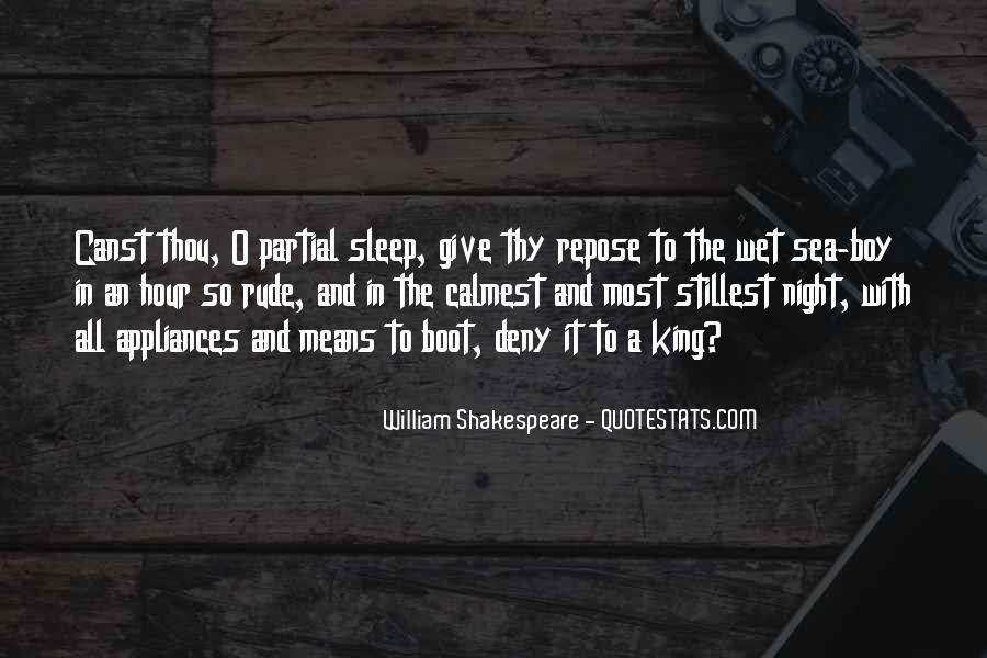Wish I Could Sleep Quotes #3582