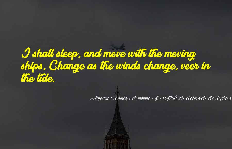 Wish I Could Sleep Quotes #3695