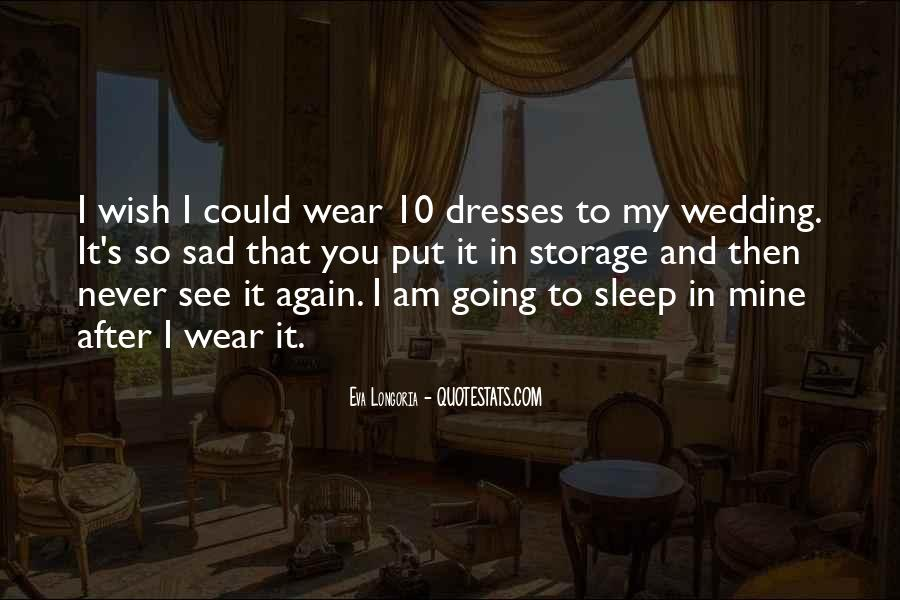 Wish I Could Sleep Quotes #490820