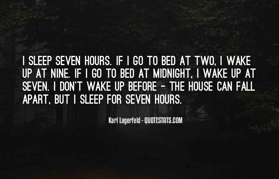 Wish I Could Sleep Quotes #50