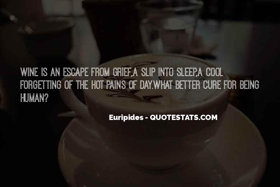 Wish I Could Sleep Quotes #6734
